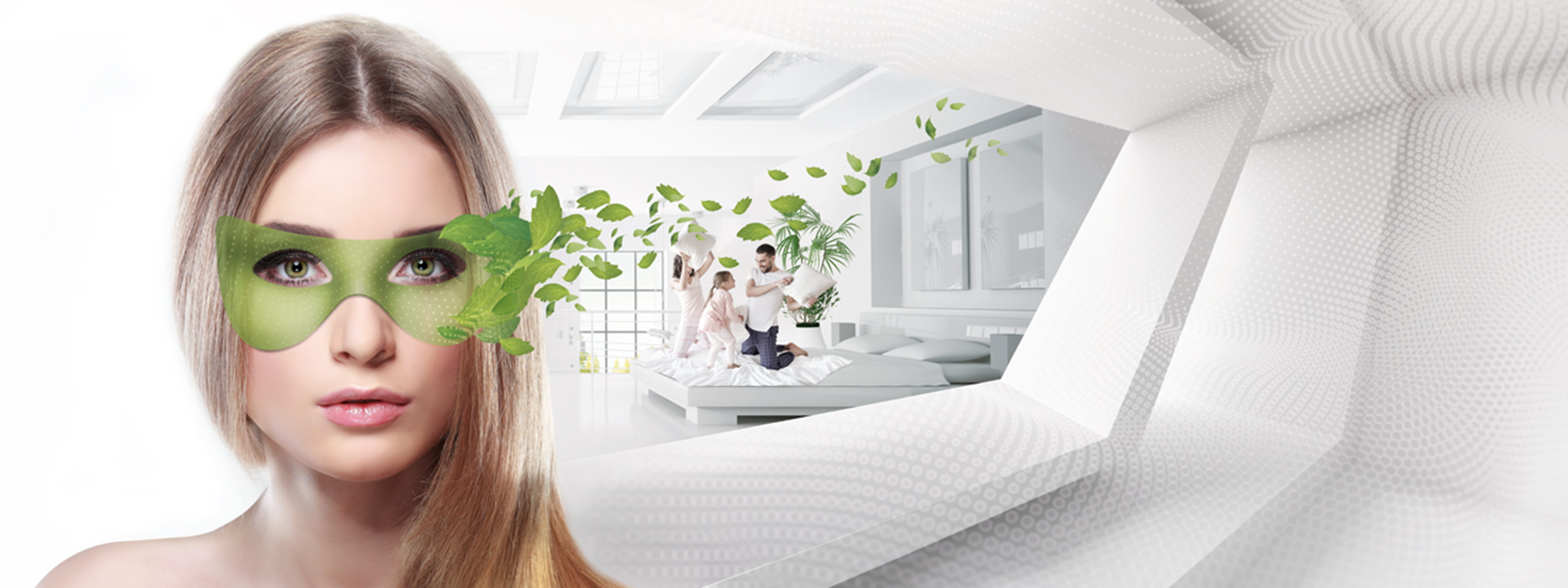 Baumit Klima lime products regulate the air humidity and improve the indoor air quality.